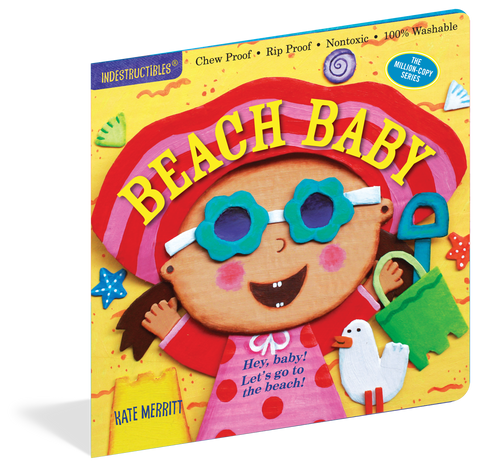 Beach Baby Indestructibles Rip Proof + Chew Proof + Washable Books