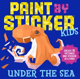 Under the Sea Paint by Sticker | Workman Publishing