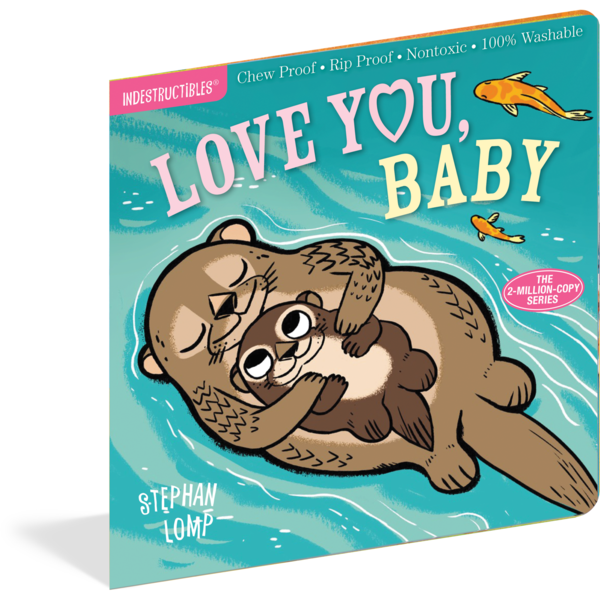 Love You Baby Chewproof Book | Indestructibles
