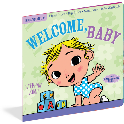 Welcome Baby Indestructibles Rip Proof + Chew Proof + Washable Books - Nature Baby Outfitter