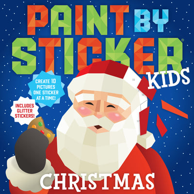 Christmas Paint by Sticker | Workman Publishing