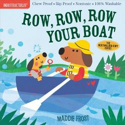 Row, Row, Row Your Boat Chewproof Book | Indestructibles