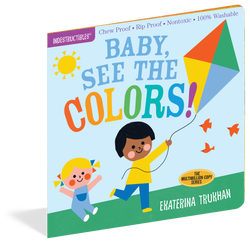 Baby See The Colors Chewproof  Book | Indestructibles