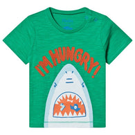 Short Sleeve Hungry Shark Baby Tee