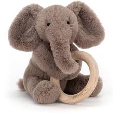 Shooshu Elephant  Wooden Ring Toy | Jellycat