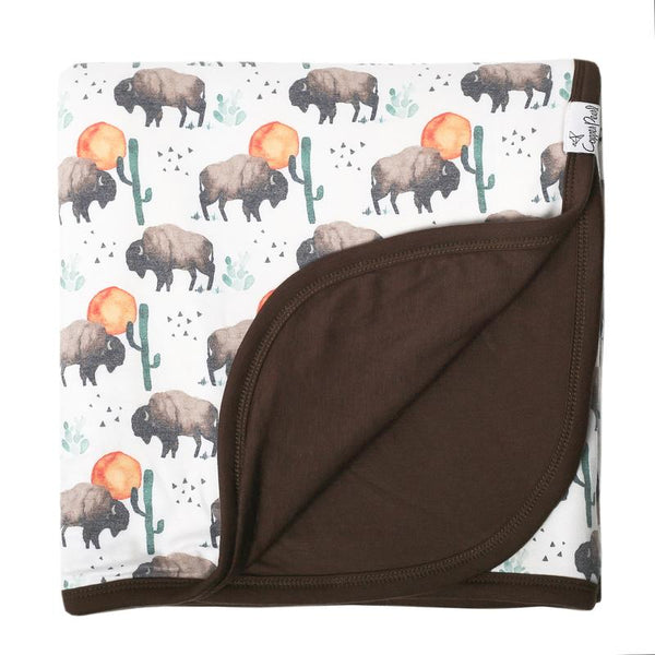 Bison Three-Layer Quilt | Copper Pearl