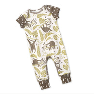 Rainforest Short Sleeve Romper | Tesa Babe