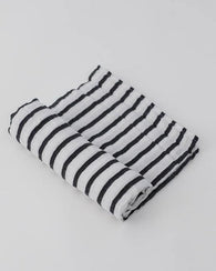 Brenton Stripes Swaddle Blanket | Little Unicorn