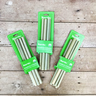 Bamboo Straws Set Of 6 & Cleaning Brush| Bambu - Nature Baby Outfitter