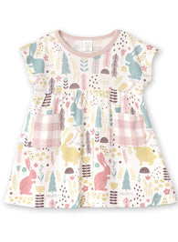 Easter Baby Dress in Bunny Print | Tesa Babe