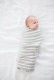 Midtown Large Premium Knit Swaddle Blanket | Copper Pearl