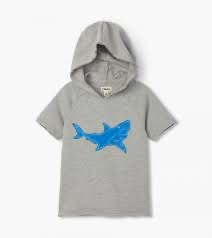 Great White Shark Raglan Hoodie | Hatley