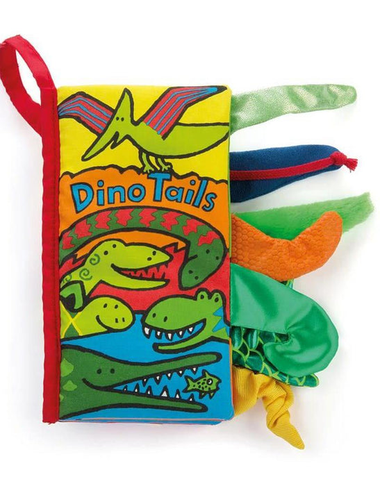 Dino Tails Book | Jellycat