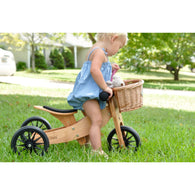 Kinderfeets Tiny Tot 2 in 1 Tricycle to Balance Bike - Nature Baby Outfitter