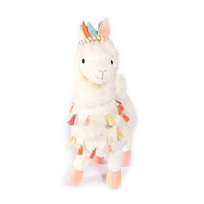 Lakely Tribal Plush Llama | Mon Ami Designs