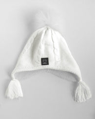 Ivory Fleece Linned Hat | Miminoo