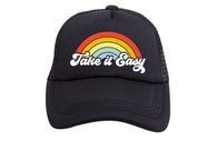 Take It Easy Black Hat | Tiny Trucker