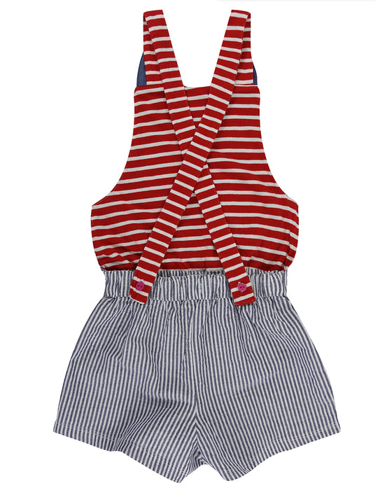 Character Short Dungarees | Lilly & Sid - Nature Baby Outfitter
