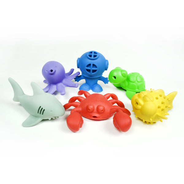 Rubber Bathtub Toys | Begin Again - Nature Baby Outfitter