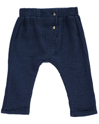 Navy Lightweight Woven Pants | Me & Henry