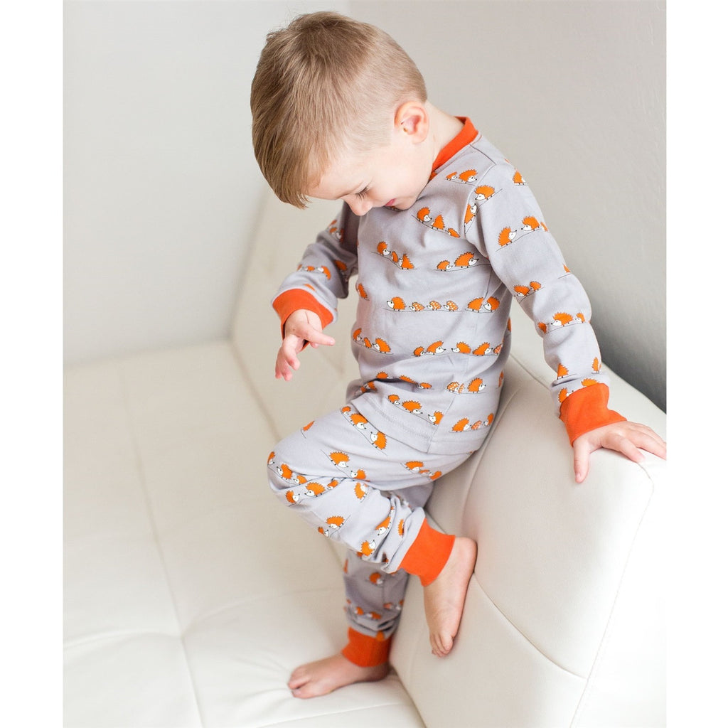 637932a7181b Hedgehogs Lovedbaby Organic Long Sleeve PJ Set – Nature Baby Outfitter