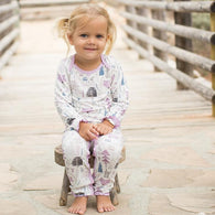 Woodland Fox Lilac Coverall | Bestaroo