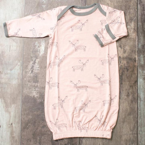 Pink Moose Sleep Gown | Bestaroo