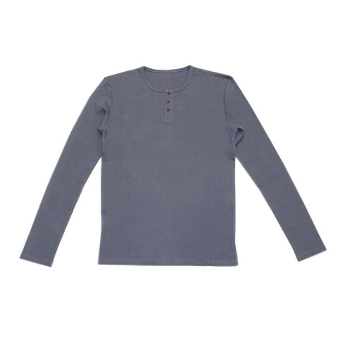 Dusk Organic Long Sleeve Thermal Shirt | L'ovedbaby