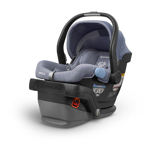Henry (Blue) Wool Version Mesa Infant Carseat | UPPAbaby