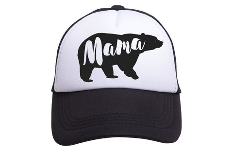 Mama Bear Hat | Black - Nature Baby Outfitter