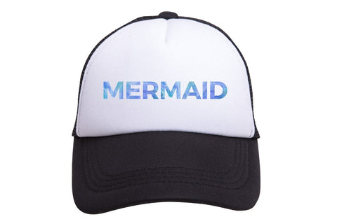 Mermaid Hat | Black