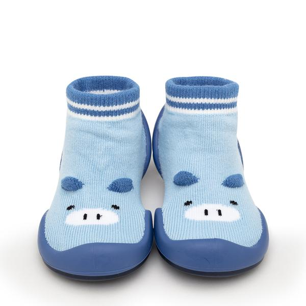 Blue Piglet Baby Shoes | Komuello