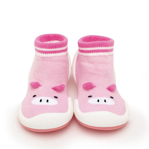 Pink Piglet Baby Shoes | Komuello