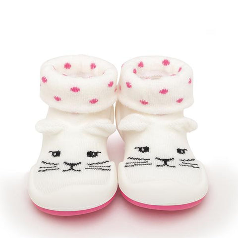 Pink Cats Baby Shoes | Komuello