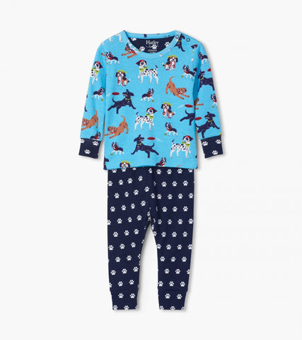 Playful Pups Organic Cotton Pajama Set| Hatley