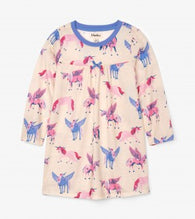 Mystical Unicorns Long Sleeve Nightdress  | Hatley