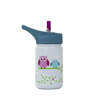 Scout 13 Oz Flip Straw Top Kids Stainless Steel Water Bottle | Ecovessel