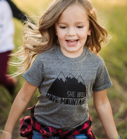 She Will Move Mountains Tee| Made of Mountains