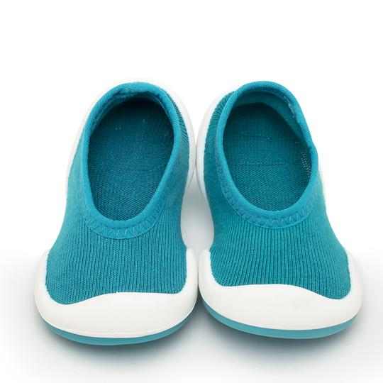 Teal Flat Baby Shoes | Komuello