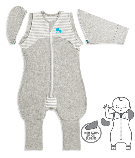 Gray Swaddle Up Transition Suit | Love to Dream