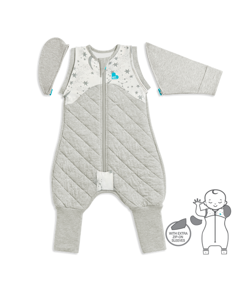 White Swaddle Up Transition Suit - Warm | Love to Dream