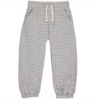 Gray Stripe Lightweight Gauze Pants | Me & Henry