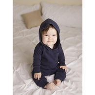Navy Lovedbaby Thermal Hoodie - Nature Baby Outfitter
