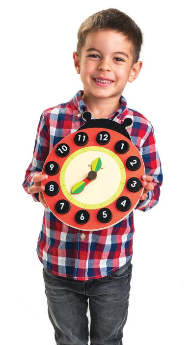Ladybug Teaching Clock | Tender Leaf Toys