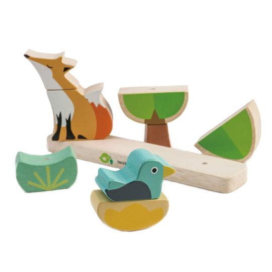 Foxy Magnetic Stacker | Tender Leaf Toys