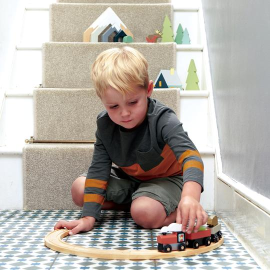 Treetops Train Set | Tender Leaf Toys
