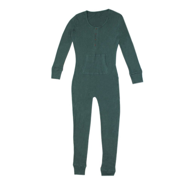Pine Womens Organic Thermal Bodysuit | L'ovedbaby