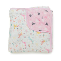 Unicorn Dream Muslin Quilt | Loulou Lollipop