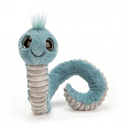 Blue Wiggly Worm | Jellycat