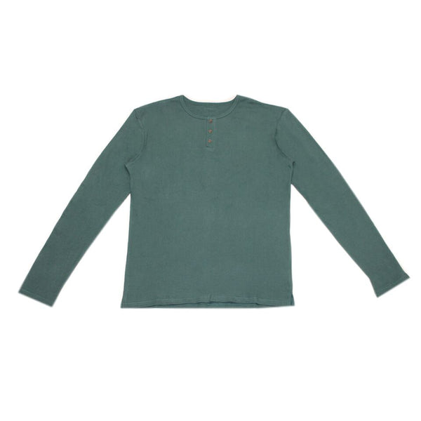 Pine Organic Long Sleeve Thermal Shirt | L'ovedbaby